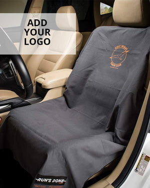 Custom Car Seat Cover - Promote your business, add your logo