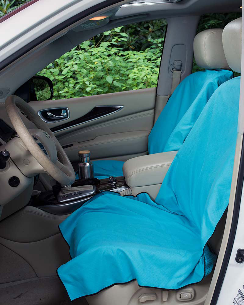Car Seat Cover Design >> Towel Car Seat Cover Set 2 Seat Covers Water Bottle