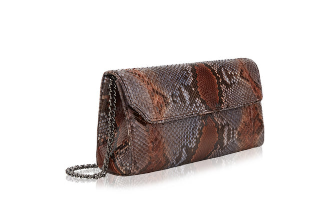 Anna Brown Grey Python