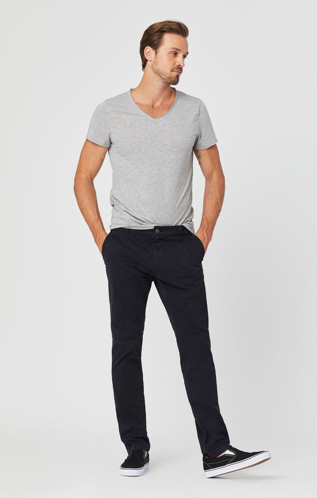 Pantalon Johnny Deep Navy Sateen Mavi Jeans