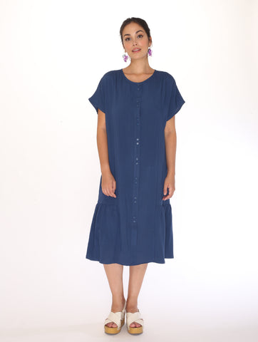 Robe Step Navy Pepaloves