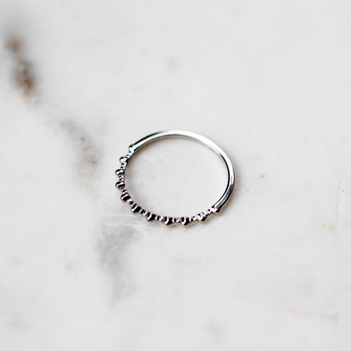 Bague Basic Argent Horace Jewelry
