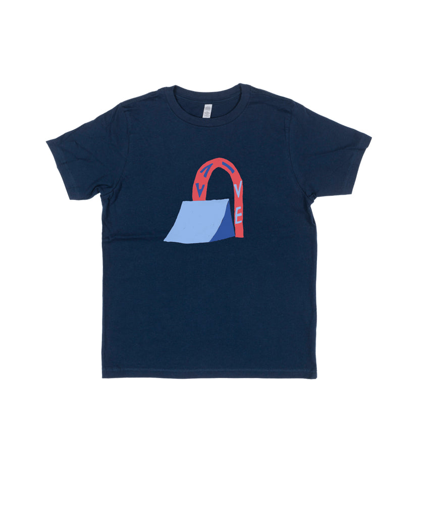 T-Shirt Wallride Kids Navy Avive