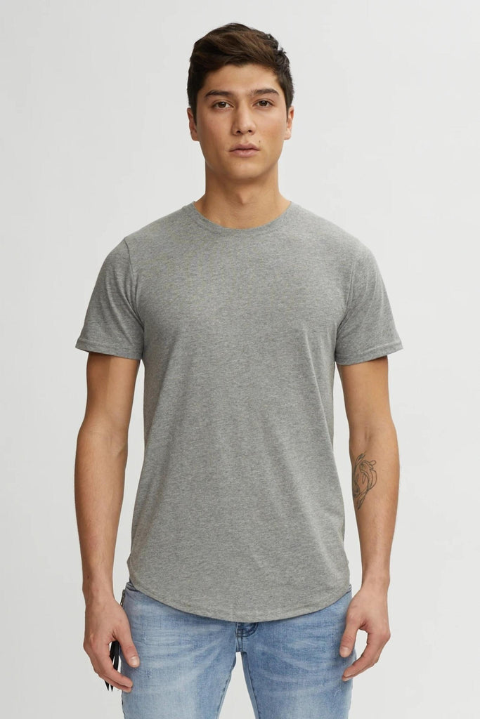 T-Shirt Eazy Scoop H. Grey Kuwalla Tee