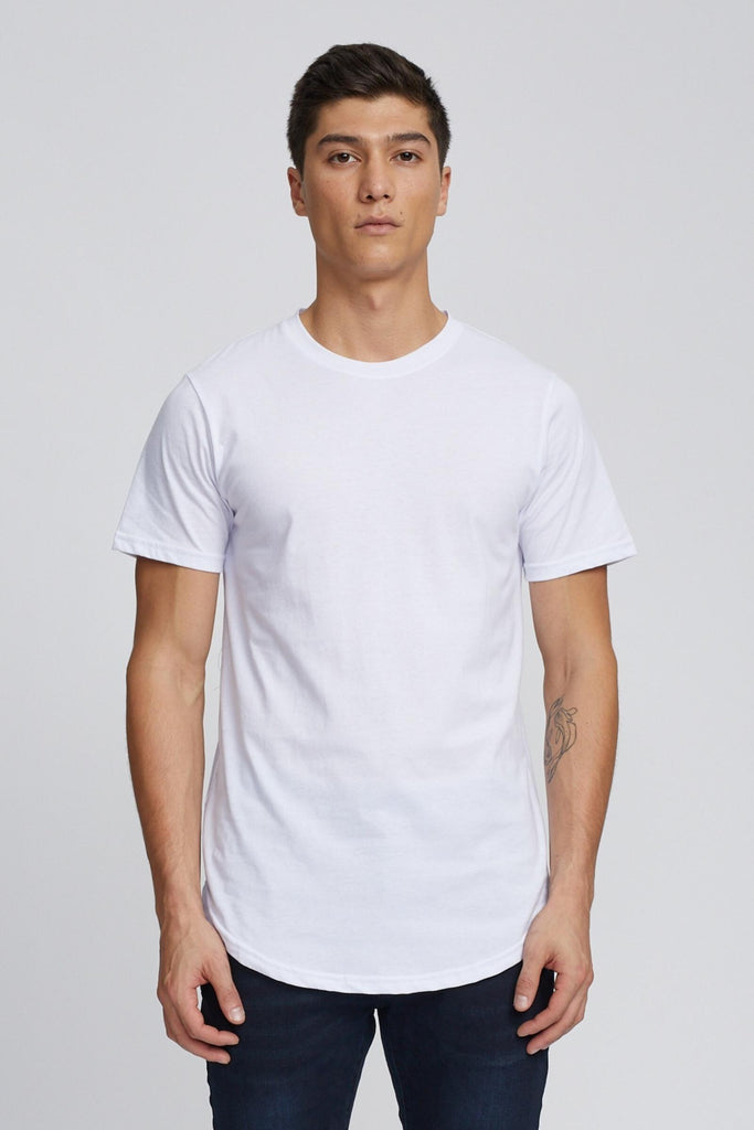 T-Shirt Eazy Scoop White Kuwalla Tee