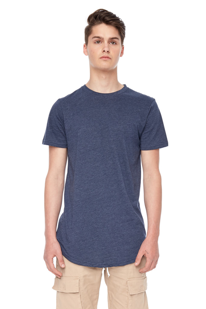 T-Shirt Eazy Scoop Navy Kuwalla Tee
