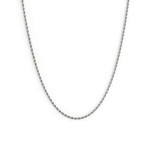 Collier Romance Thin Argent Twenty Compass