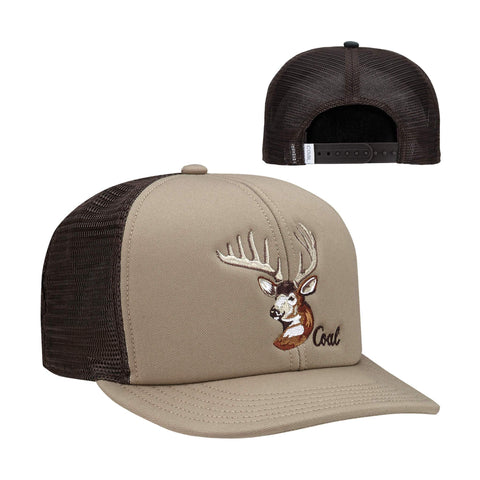 Casquette The Wilds Khaki-Deer Coal