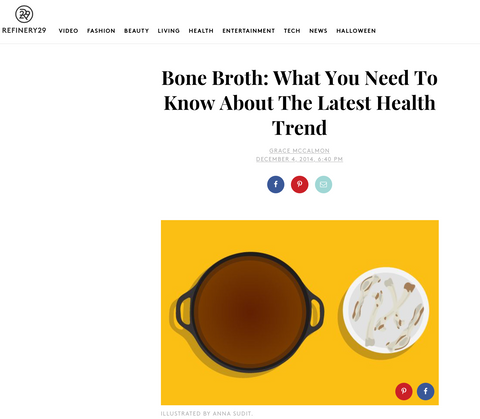 Bone Broth: What You Need To Know About The Latest Health Trend