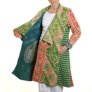 Cotton Kanta Gujarati Coat