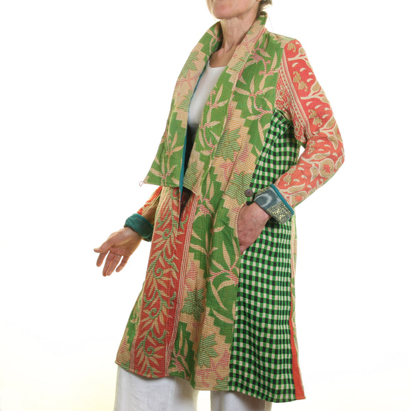 Cotton Kanta Gujerati Coat