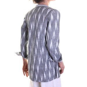 Woven 'Ikat' Cotton Jacket