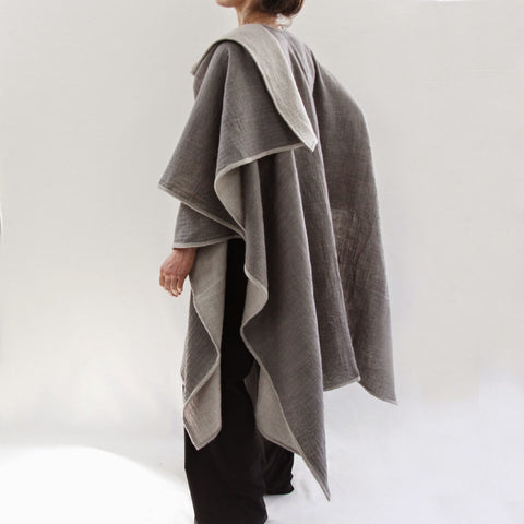 Reversible Wool Wrap