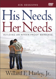 His Needs, Her Needs: Building an Affair-Proof Marriage (A Six-Session Study DVD)