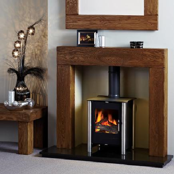 Michael Miller Fireplace