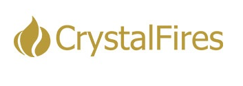 Crystal Fires Business Logo