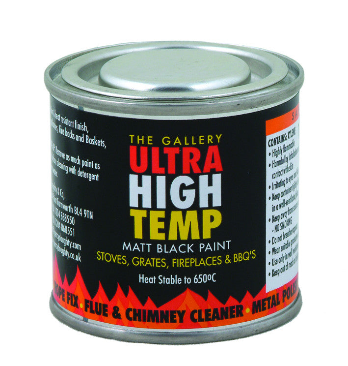 STOVE PAINT 120ml Matt black