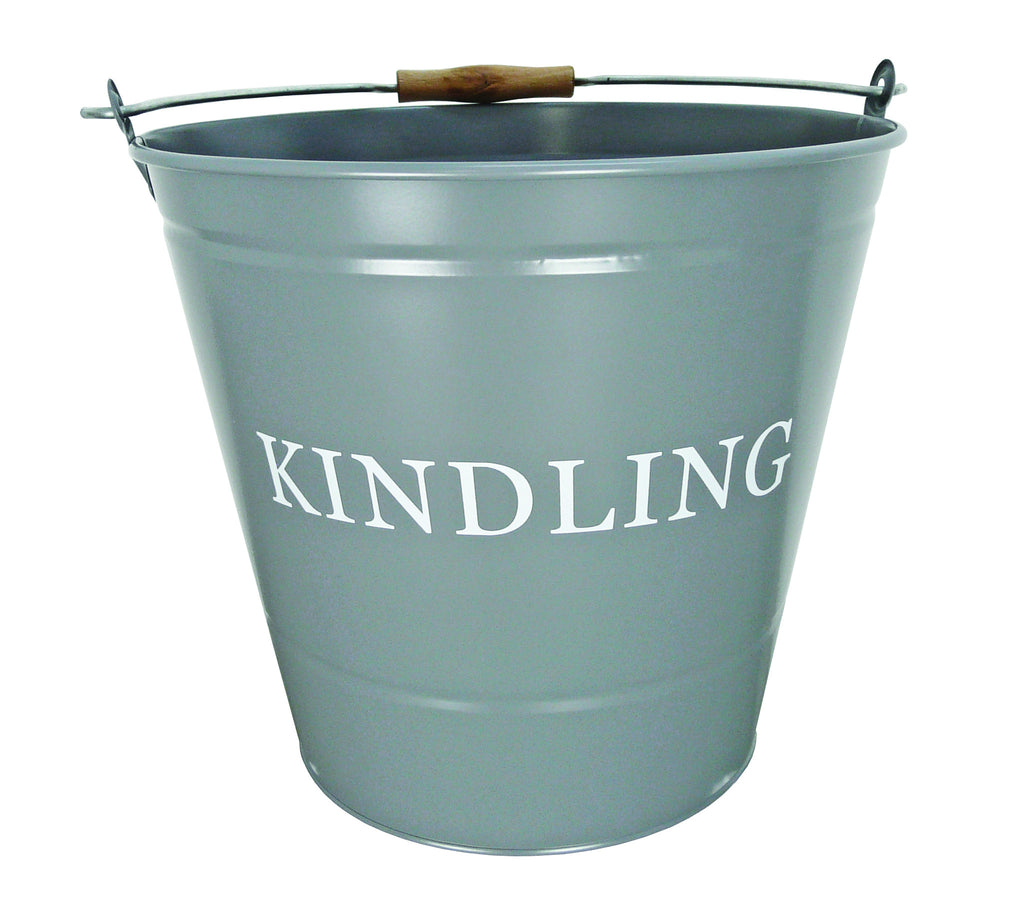 LARGE GREY KINDLING BUCKET 1630346