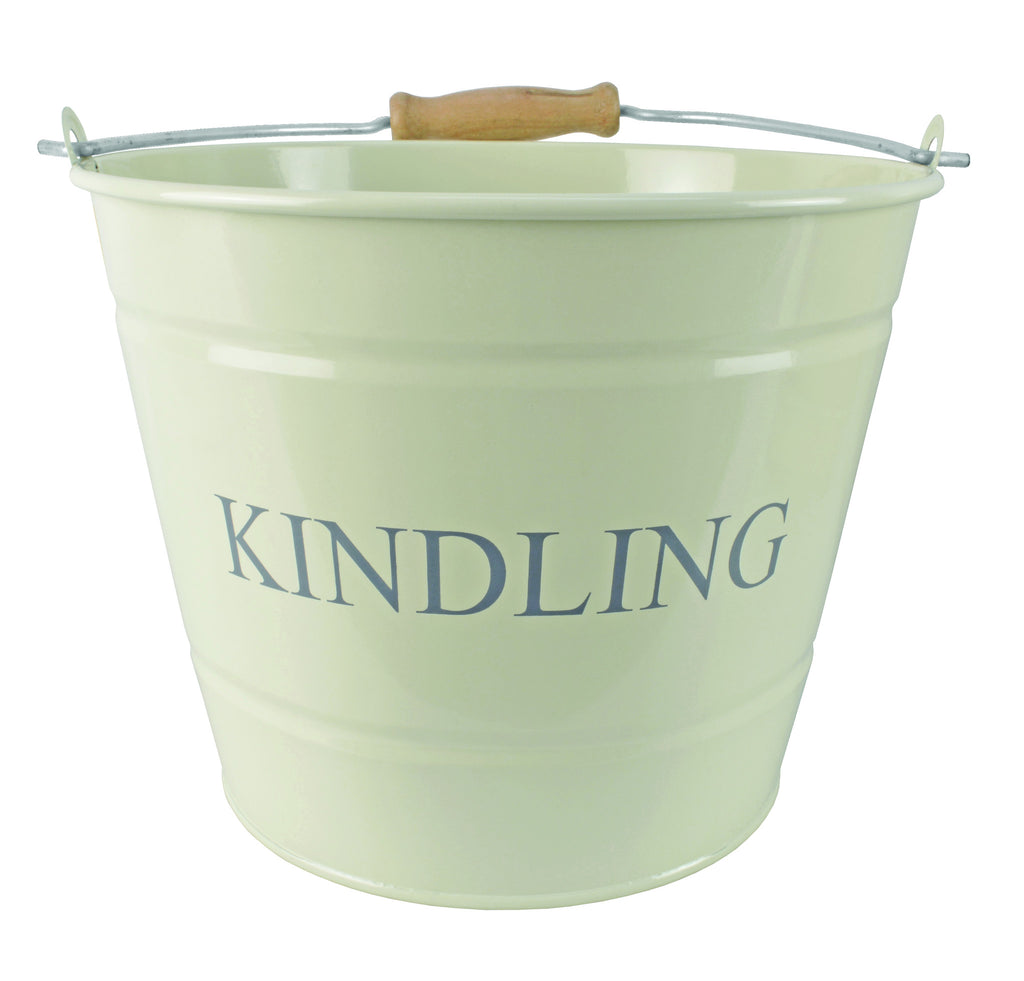 SMALL KINDLING BUCKET CREAM 1630361