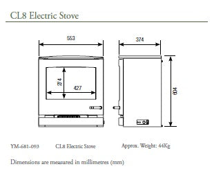 CL8 Electric Stove 2