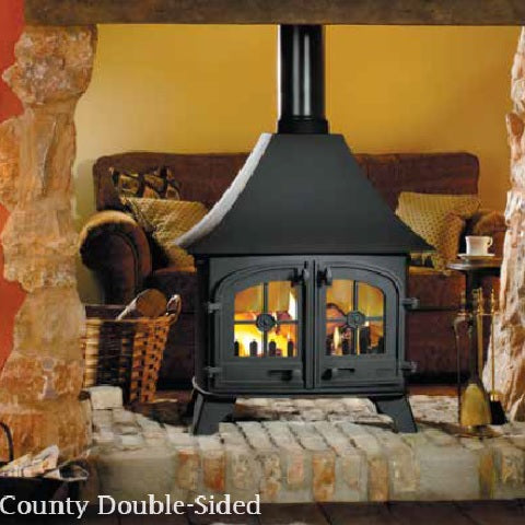 County, Devon and Exe - Double-Sided Stoves