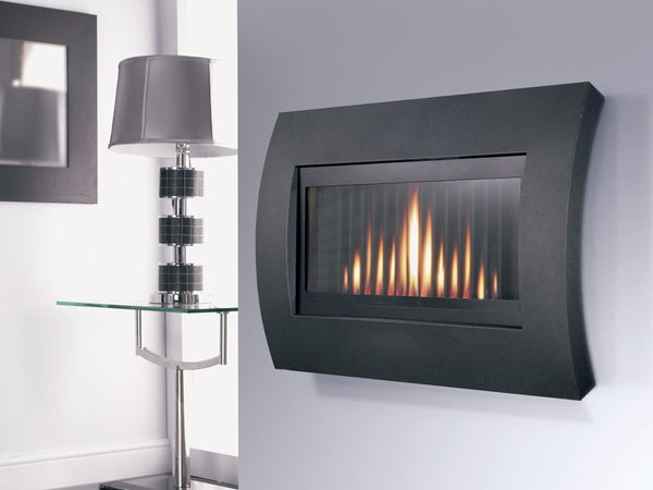 Curve Gas Fire