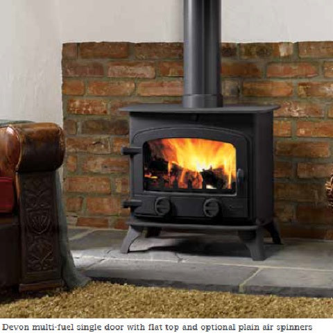 Devon Multifuel / Woodburning Stove