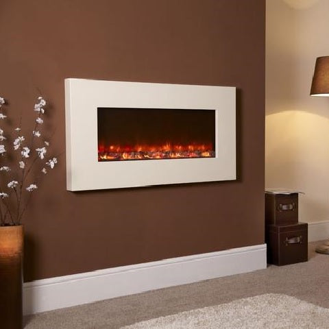 Electriflame Ivory Wall Mounted Electric Fire