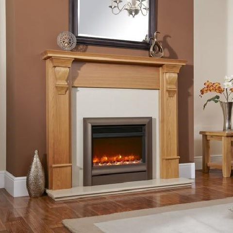 "Electriflame Oxford 22"" Hearth Mounted Electric Fire"