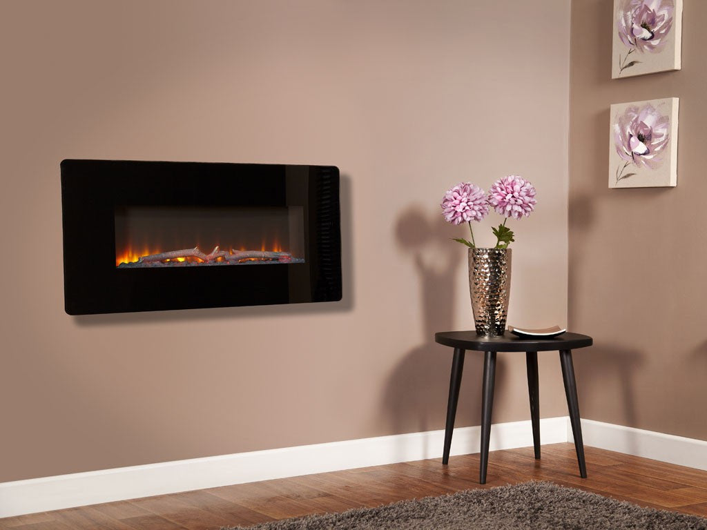 Flamonik Enchant wall mounted electric fire