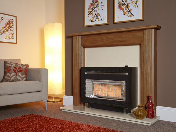 Misermatic Electric radiant style electric fire