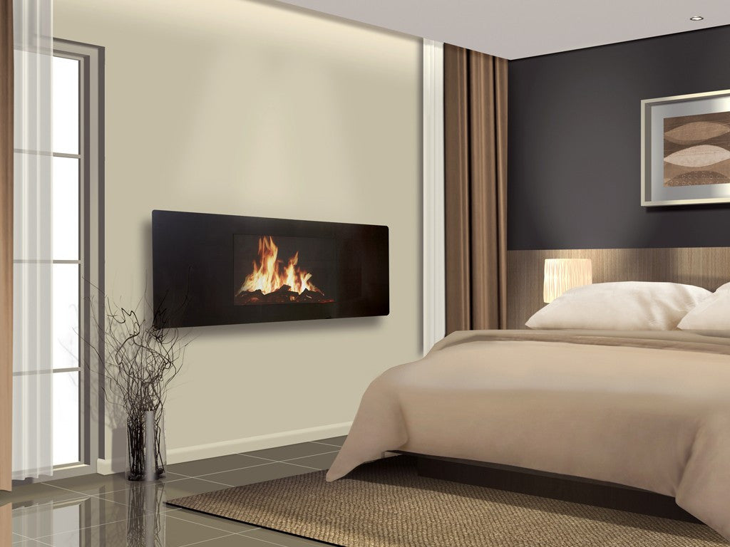 Puraflame Panoramic wall mounted electric fire