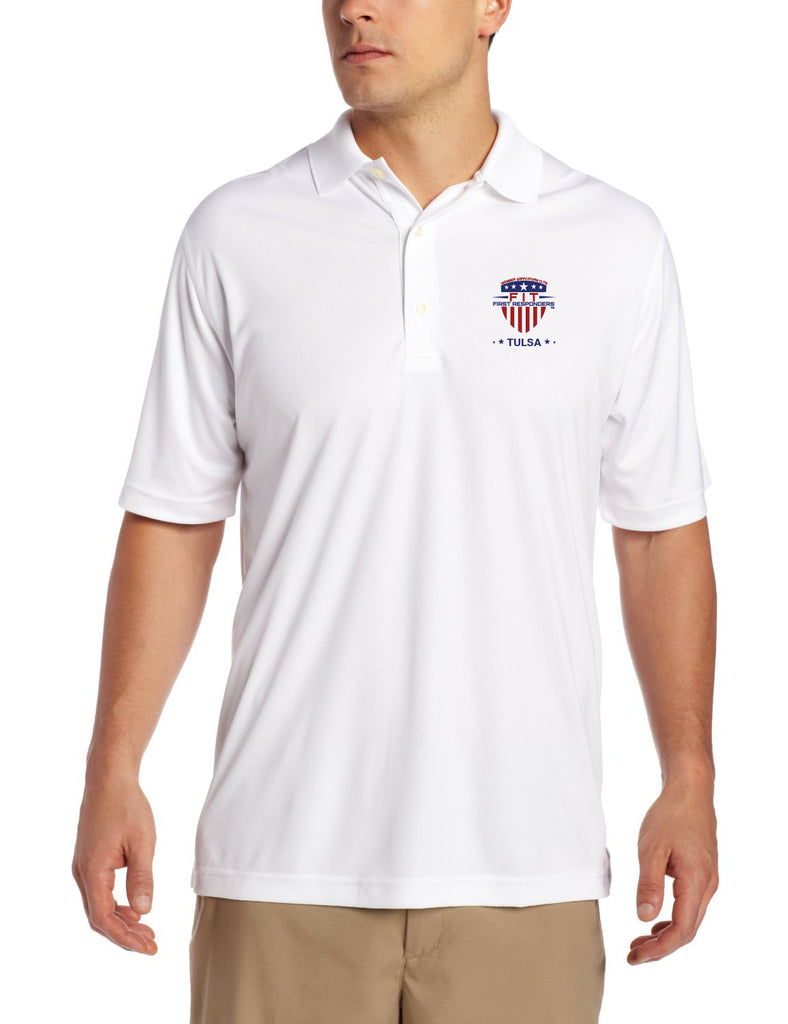 Adult FFR - White Golf T-Shirt
