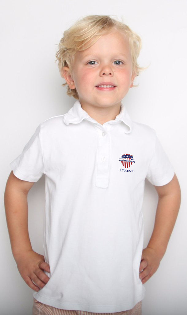 Child FFR - White Golf T-Shirt