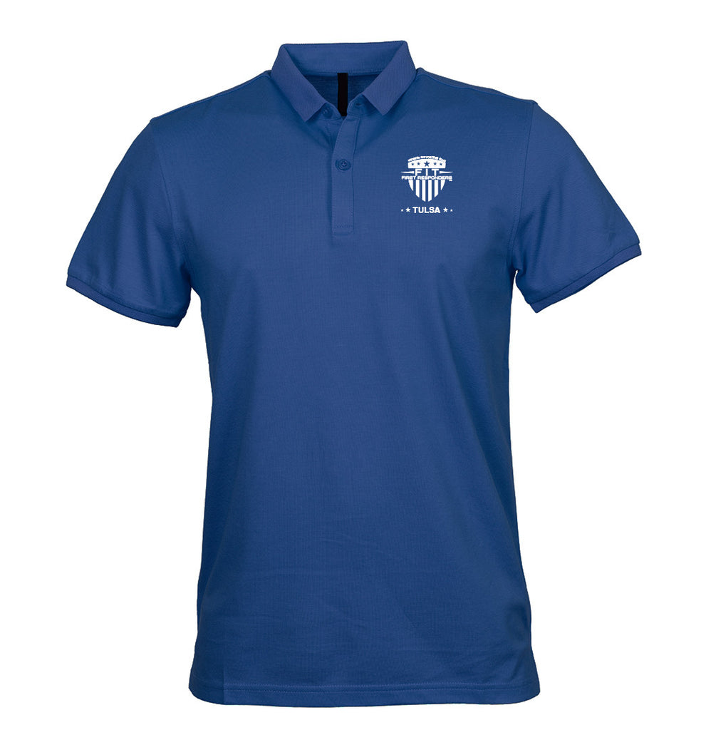 Adult FFR - Blue Golf T-Shirt
