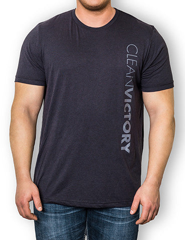 Men's T-Shirt </br> Clean Victory - Gray