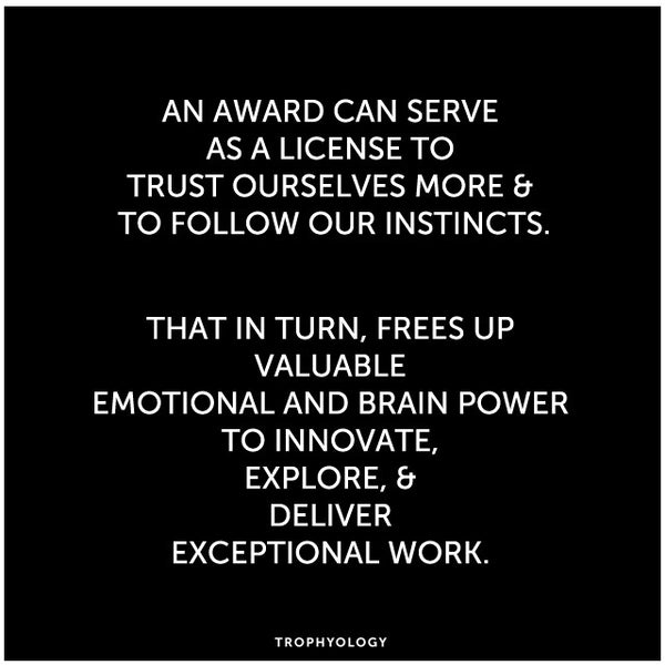 Awards: A License to Trust