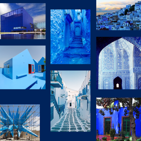Blue Inspired Architecture