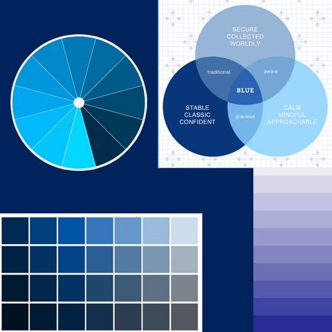Blue Color Theory