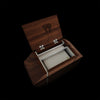 Custom Engraved Wooden Stationary Box Gift for Retirees