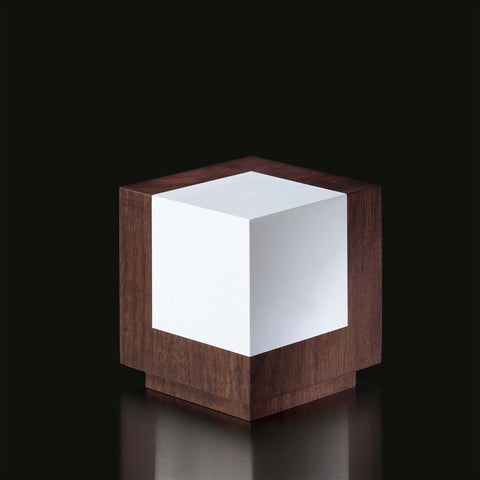 Geometria Cubus Award in Walnut