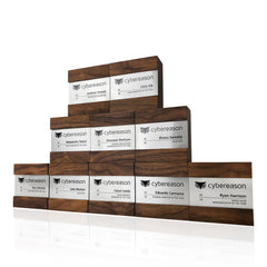 Contemporary Team Recognition Award Trophies Personalized Engraved
