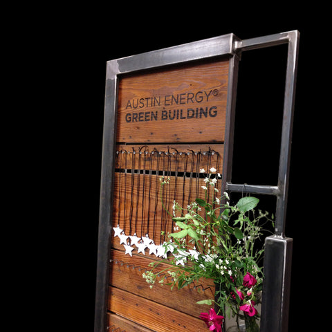 Custom Corporate Display Stand for Austin Energy Green Building