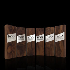 Elegant Corporate Gift Award Recognition_Engraved Wooden Metal Trophies