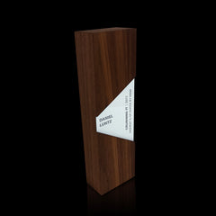 Engraved Wooden Employee Recognition Award Team Appreciation