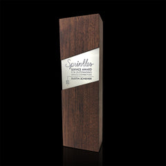 Modern Employee Recognition Award Personalized Engraved Wood Metal_Sprinkles
