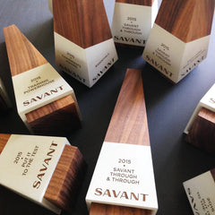 Unique Engraved Wooden Trophies Made in the USA