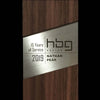 Unique Engraved Modern Wood and Metal Architecture Design Award