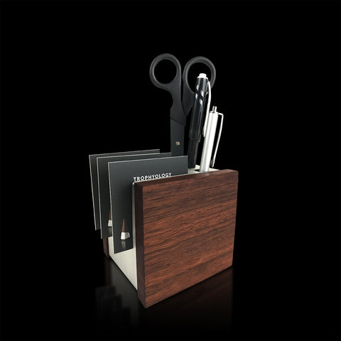Unique Desk Accessory as Executive Gift_Wooden and Engraved
