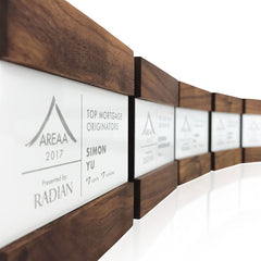 Unique Elegant Modern Trophies Engraved Plaques